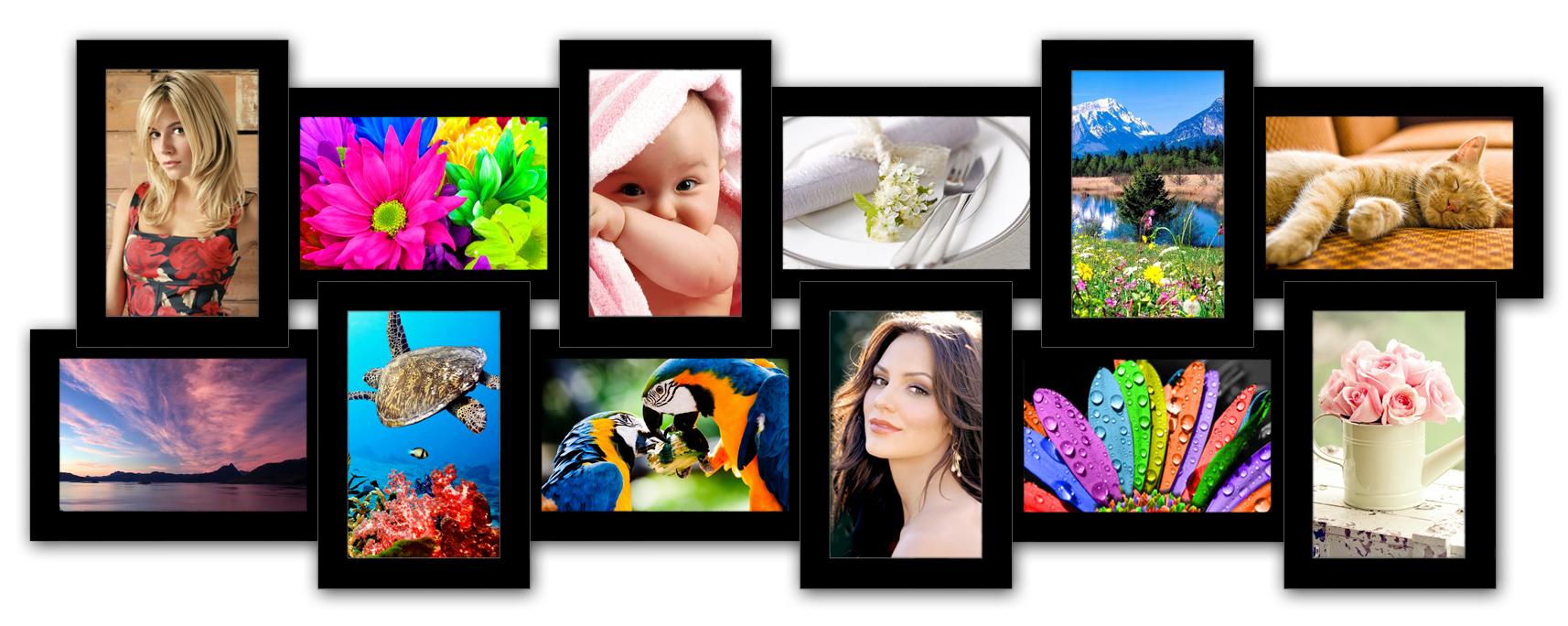 фоторамка история 12 на много фото
