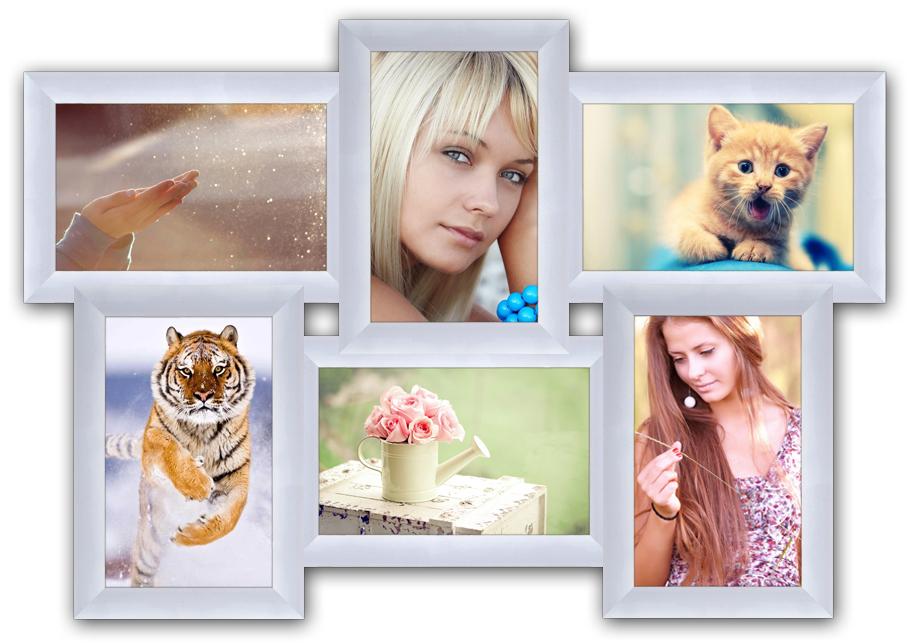 Как сделать фото в белой рамке онлайн