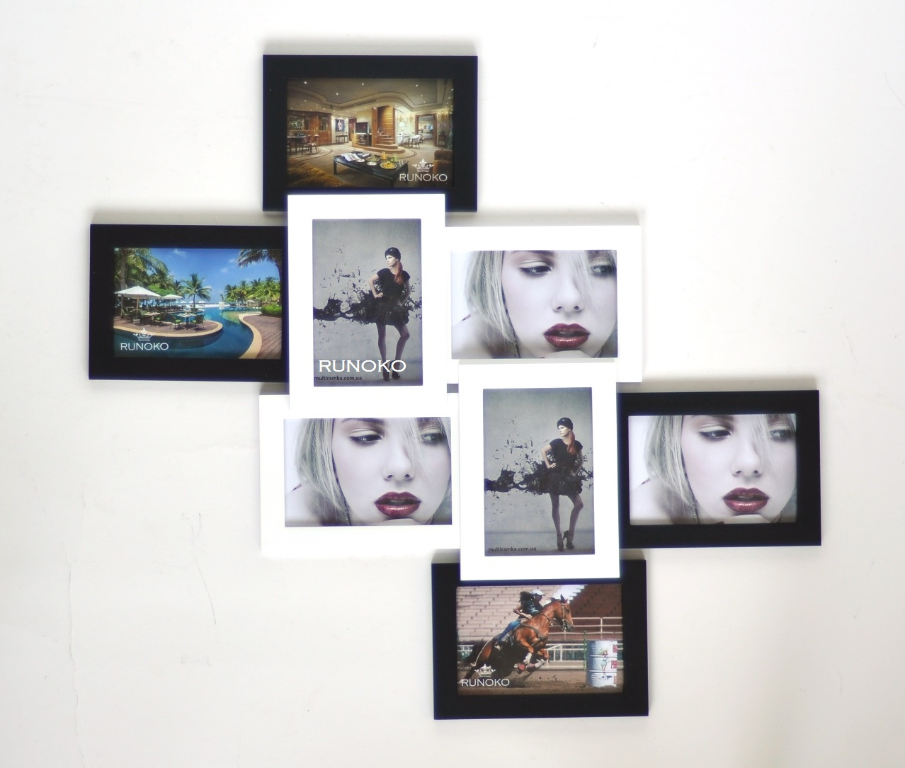 рамка на стену на много фотографий цена киев